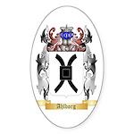 Ahlborg Sticker (Oval)