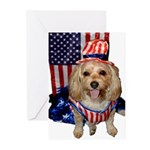 Yorkie Doodle Dandy Greeting Cards
