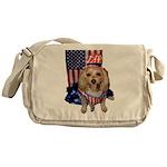 Yorkie Doodle Dandy Messenger Bag