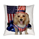 Yorkie Doodle Dandy Everyday Pillow