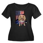 Yorkie Doodle Dandy Plus Size T-Shirt