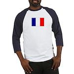 Flag of France Baseball Jersey