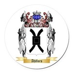 Ahlfors Round Car Magnet