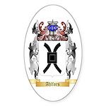 Ahlfors Sticker (Oval 50 pk)