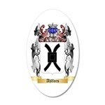 Ahlfors 35x21 Oval Wall Decal