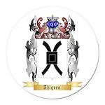 Ahlgren Round Car Magnet