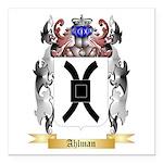 Ahlman Square Car Magnet 3