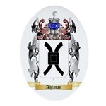 Ahlman Ornament (Oval)