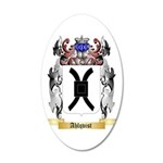 Ahlqvist 35x21 Oval Wall Decal