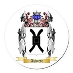 Ahlstedt Round Car Magnet