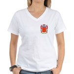 Ahmelmann Women's V-Neck T-Shirt