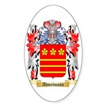 Ahmelmann Sticker (Oval 50 pk)