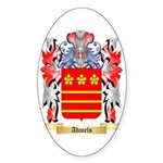 Ahmels Sticker (Oval 10 pk)