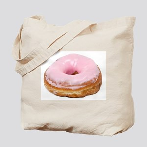 Doughnut pink frosted Tote Bag