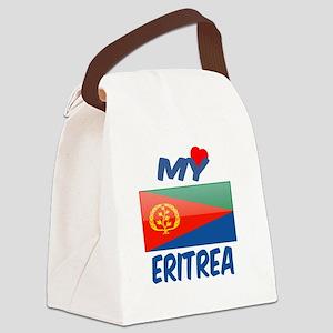 My Love Eritrea Canvas Lunch Bag