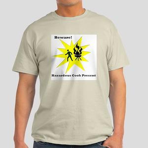 Hazardous Cook Ash Grey T-Shirt