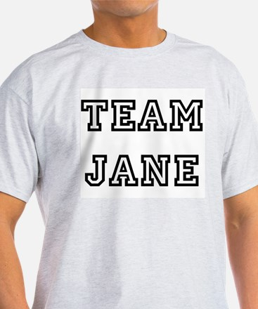 TEAM JANE T-SHIRTS Ash Grey T-Shirt