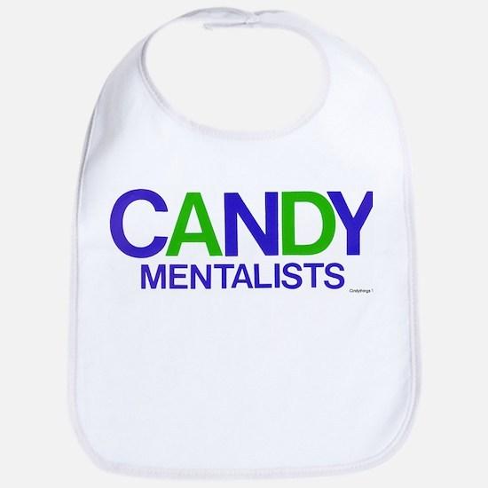 Candy Mentalists (blu/grn) Bib