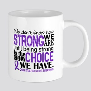 Chiari How Strong We Are Large Mugs