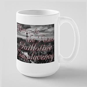 GuillotineComplacency Large Mug