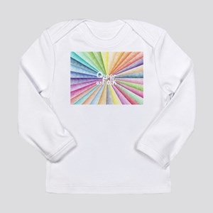 QaF Rainbow Long Sleeve Infant T-Shirt