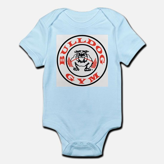 Bulldog Gym Logo Infant Bodysuit