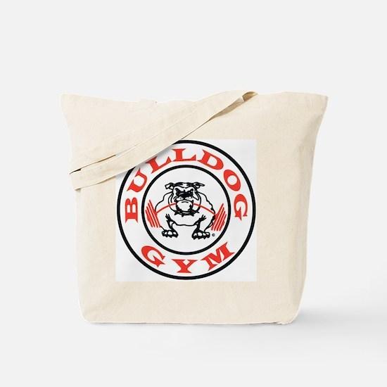 Bulldog Gym Logo Tote Bag
