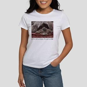 Lhasa Apso Pop Art Blitz Women's T-Shirt