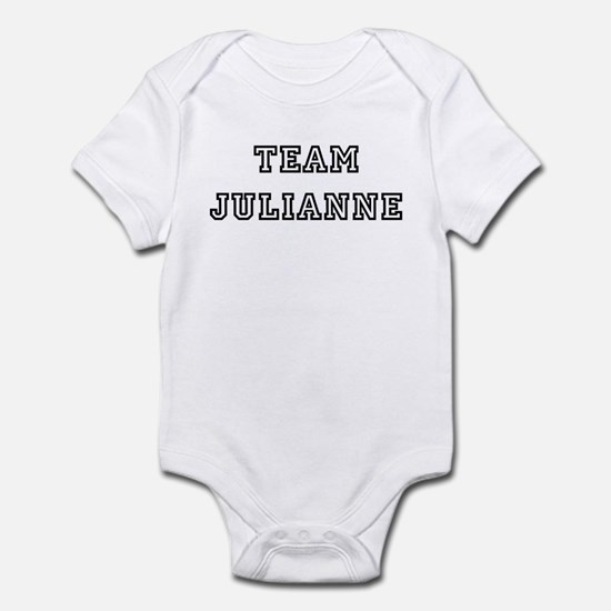 TEAM JULIANNE T-SHIRTS Infant Creeper