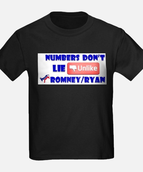 Numbers Don't Lie Unlike Romney/Obama T