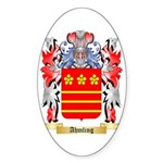 Ahmling Sticker (Oval 10 pk)