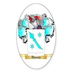 Ahmuty Sticker (Oval 50 pk)