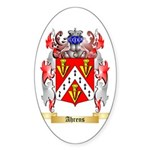 Ahrens Sticker (Oval 50 pk)