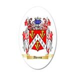 Ahrens 20x12 Oval Wall Decal