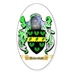 Aichenblatt Sticker (Oval 50 pk)