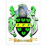Aichenblatt Small Poster
