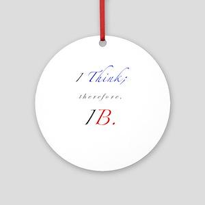 IB Ornament (Round)