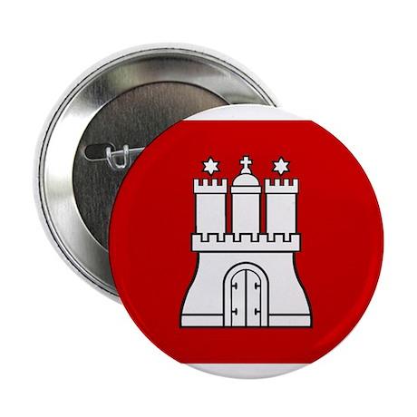 "Hamburg Flag 2.25"" Button (10 pack)"