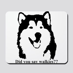 Did you say walkies? Mousepad