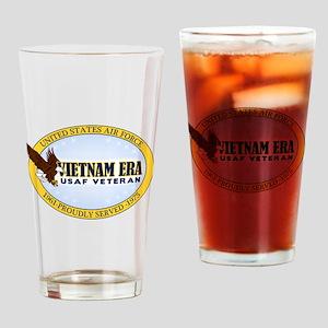 Vietnam Era Vet USAF Drinking Glass