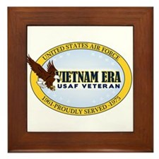 Vietnam Era Vet USAF Framed Tile