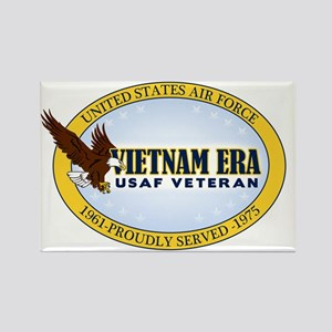 Vietnam Era Vet USAF Rectangle Magnet