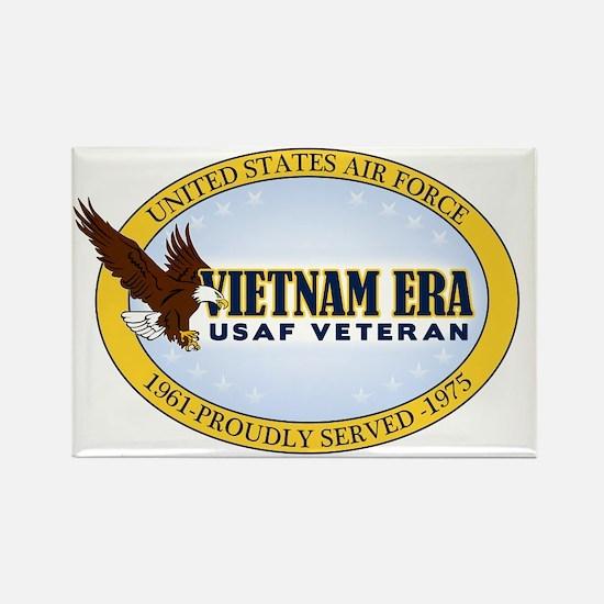 Vietnam Era Vet USAF Rectangle Magnet