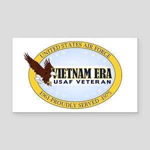 Vietnam Era Vet USAF Rectangle Car Magnet