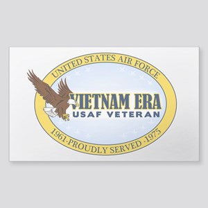 Vietnam Era Vet USAF Sticker (Rectangle)