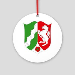 Nordrhein Westfalen Coat of A Ornament (Round)