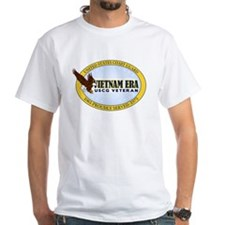 Vietnam Era Vet USCG White T-Shirt