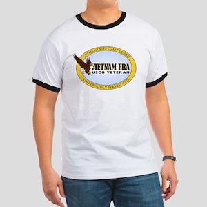 Vietnam Era Vet USCG Ringer T