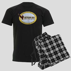 Vietnam Era Vet USCG Men's Dark Pajamas
