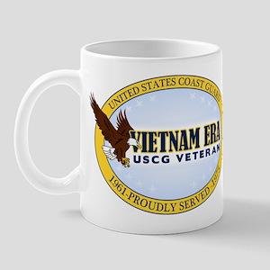 Vietnam Era Vet USCG Mug